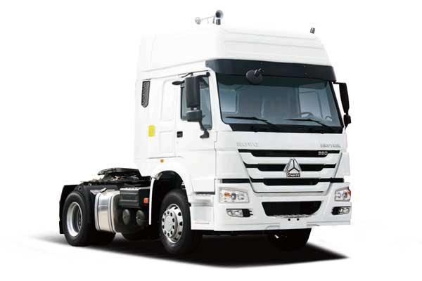 HOWO Tractor truck 4×2, Euro II-V high roof cab