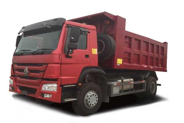 HOWO Tipper truck 4×2, Euro Ⅱ, standard cab
