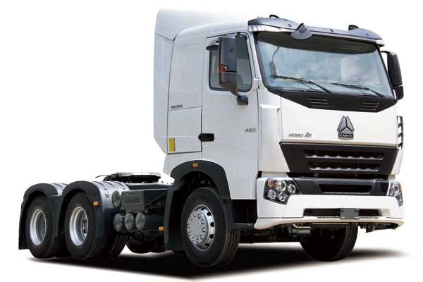 HOWO-A7 Tractor truck 6×4,Euro Ⅲ,high floor extend cab