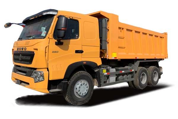 HOWO-A7 Tipper truck 6×4, Euro IV extend cab