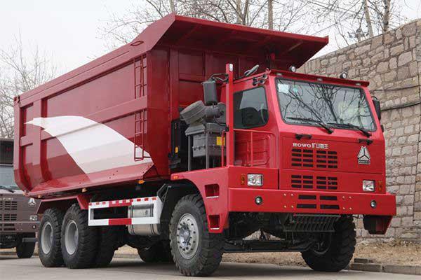 HOWO 70Ton mining truck