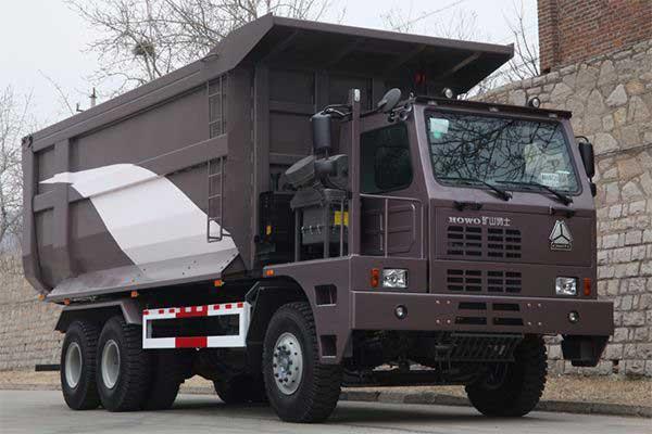 HOWO 50Ton mining truck