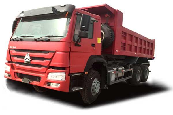 HOWO Tipper truck 6×4, EuroⅡ, standard cab