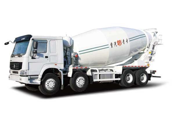 HOWO Mixer truck 8×4, Euro -V, standard cab