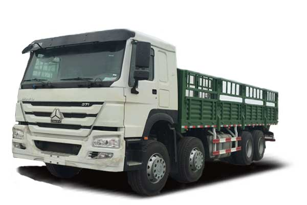 HOWO Cargo truck 8×4,Euro Ⅱ,extended cab