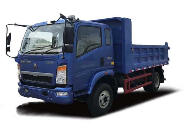 HOWO 8Ton Light dump truck 4×2, Euro Ⅲ, 2080 extend cabin