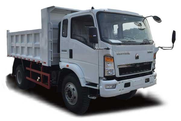 HOWO 12Ton Light dump truck 4×2, Euro Ⅲ, 2080 extend cabin