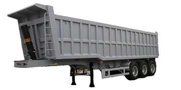 Specification for 45CBM Dump Trailer with three axles
